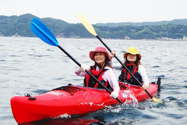【和歌山・半日】栖原海岸・シーカヤック(写真撮影・3時間)