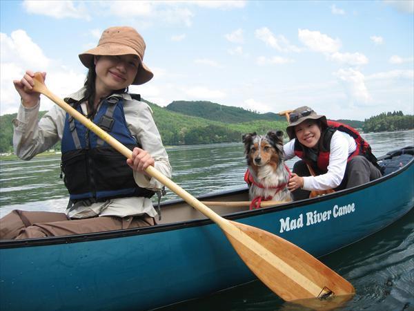 【長野・白馬・カヤック】青木湖で遊ぼう!自然を楽しむ、カナディアンカヌー半日ツアー