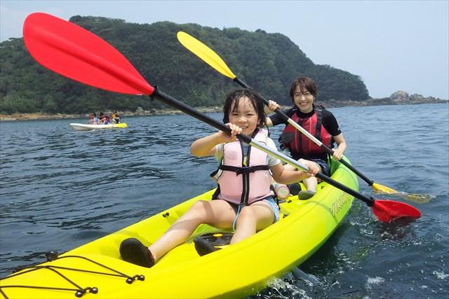 【神奈川・逗子・カヤック】夏休みの思い出を作ろう!家族みんなでファミリーカヤッキング(7~9月限定)