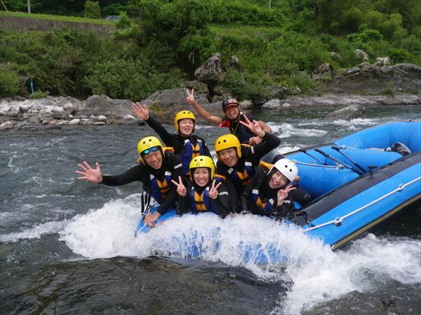 1日・長良川ダッキーセットツアー