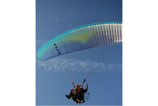 【千葉・君津市・モーターパラグライダー】鳥になって大空を飛ぼう!タンデムフライト体験