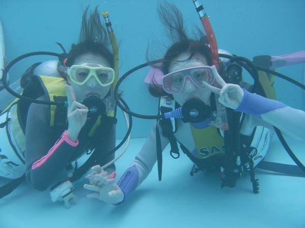 【新潟・柏崎市・体験ダイビング】プールで体験!基礎から学べる安心ダイビング