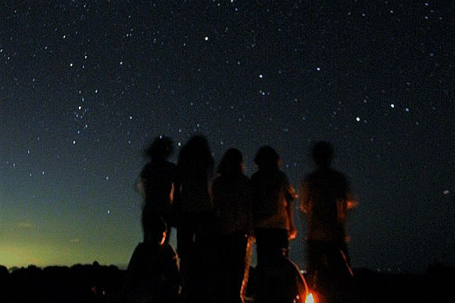 【1.5時間・自然体験】夜空を見に行こう!気軽に星空観察★