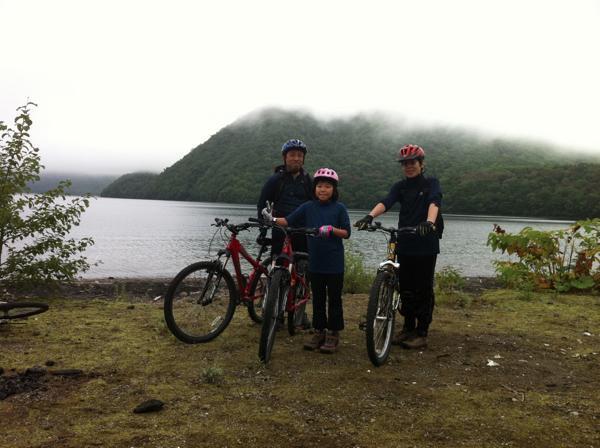 【1日・休暇村~モーラップ湖畔】走行時間3時間♪支笏湖サイクリング!