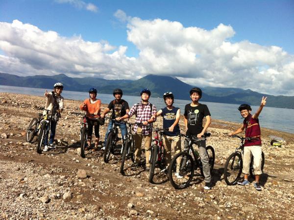 【1日・千歳〜支笏湖】走行時間5時間♪ロングコースサイクリング!