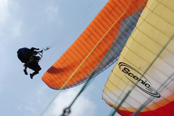 【タンデム】高さ約400メートルからパラグライダーで飛ぼう☆
