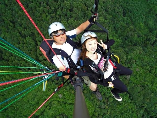 【1日・体験+タンデム】フワッと飛行&大空をフライト!よくばりプラン