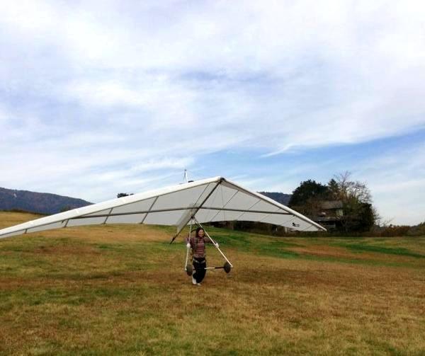 【茨城・ハンググライダー】初心者でも飛べます!ハンググライダーお試しプラン