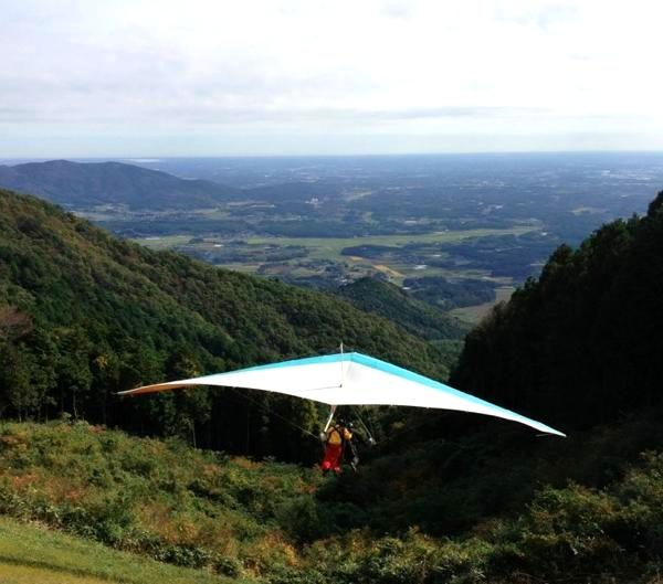 【茨城・ハンググライダー】よくばりな方にオススメ!ハンググライダー体験&タンデムフライトプラン