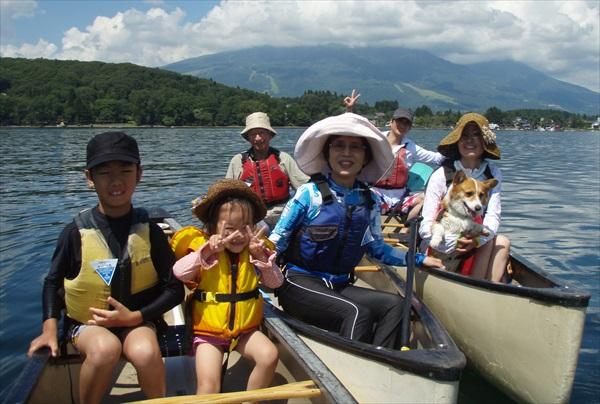 【長野・野尻湖・カヌー】1日タンデムレッスン!大自然へこぎ出そう!