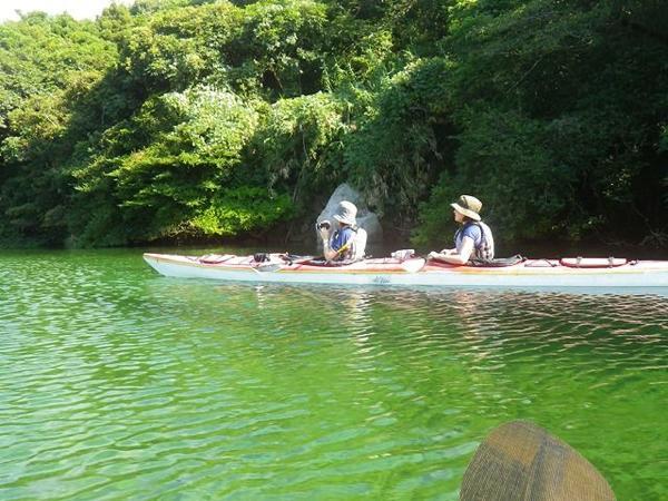 【1日・ランチ付】リバーカヤック+沢登り体験★屋久島・栗生川!