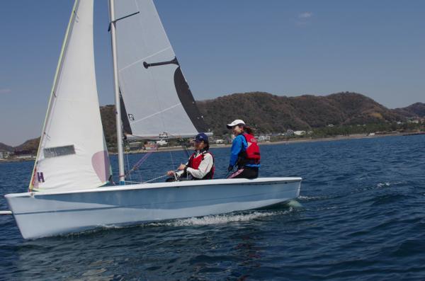 【半日】ヨットは1人1艇&マンツーマン指導★スタートセーリングコース
