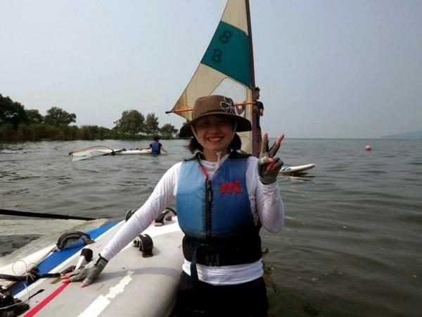【半日・初級体験コース】穏やかな琵琶湖は体験にも最適★ウィンドサーフィン