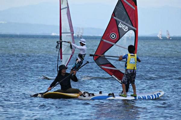 【1日・初級体験コース】ライセンスに挑戦もできます★琵琶湖でウィンドサーフィン体験