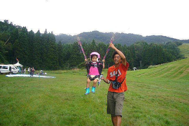 【兵庫県・神鍋高原・パラグライダー】子どもだって飛びたい!ファミリー対象1日体験※限定価格※