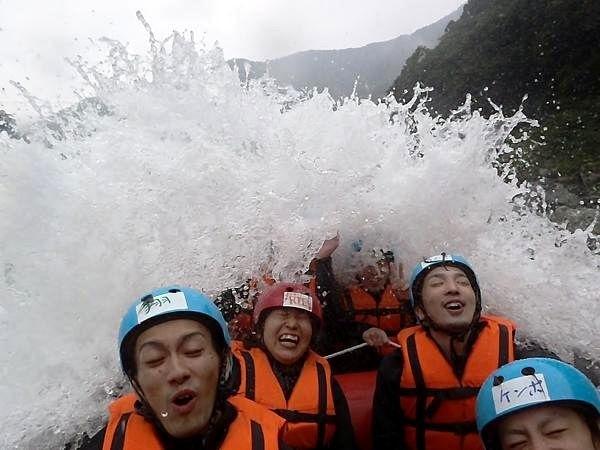半日・吉野川ツアー・スピードラン・ラフティング