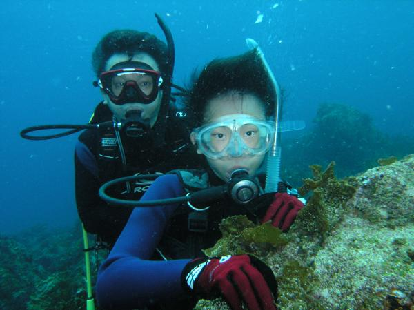 【体験・半日】少人数制を徹底!初島でじっくり体験ダイビング☆