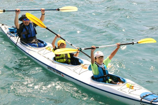 【長崎・平戸・シーカヤック】アウトドアランチ付き!平戸の海を満喫する1日シーカヤック