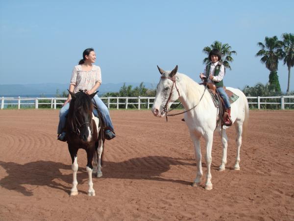【長崎・平戸・乗馬体験】初心者にオススメ!20分間の本格乗馬体験★写真プレゼント