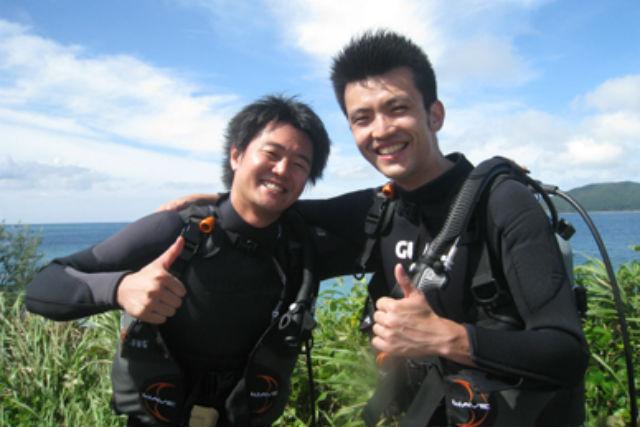 【経験者のみ・ボート】大物に遭遇も!奄美大島でファンダイビング!