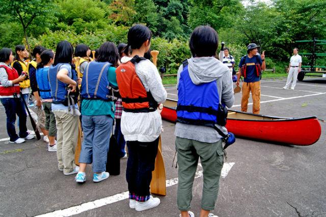 【北海道・千歳川・カヌーツアー】みんなでカヌーを楽しもう!団体向けカヌーツアー