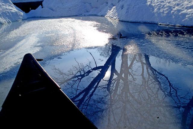 【北海道・千歳川・カヌーツアー】冬にしか味わえないカヌー体験をしよう!