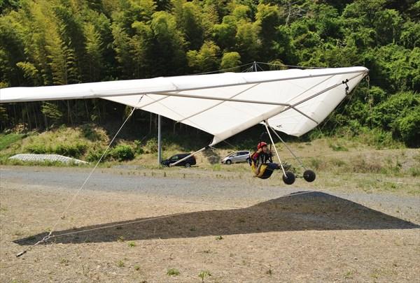 【トーイング浮遊体験】空にふわっと浮いてみよう!ハンググライダー体験★動画プレゼント