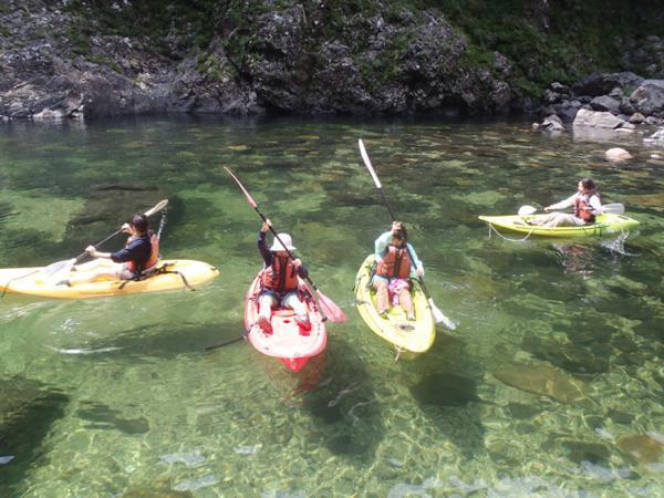 【半日】リバーカヤックで屋久島の安房川を楽しもう!
