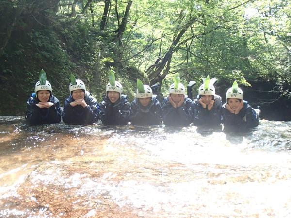 【半日・午前】オトナの川遊び☆童心にかえれる長良川源流キャニオニング!