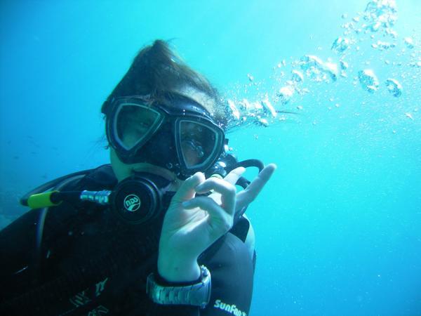 【1日・体験・ビーチ】船酔いが心配な方にオススメ!安心の体験ダイビング☆