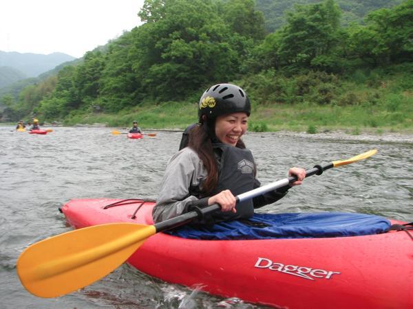 【埼玉・秩父長瀞・1日・カヤック】流れが穏やかな荒川で、ゆったり川下り。1日カヤックプラン