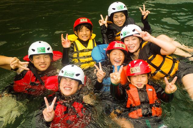 京都・保津川・夕方ラフティング(16:00・180分・川を貸切)