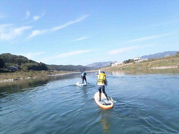 【半日・午後コース】日本三大急流・球磨川を満喫!River SUP