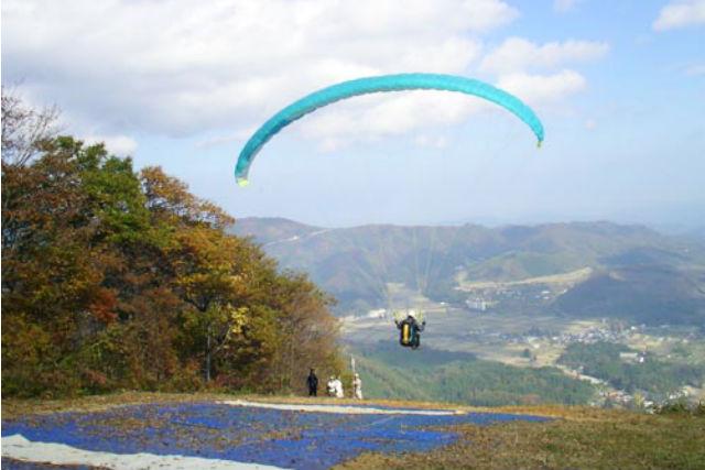 【山頂タンデム】高度430mの上空!神鍋名色山頂からフライト★