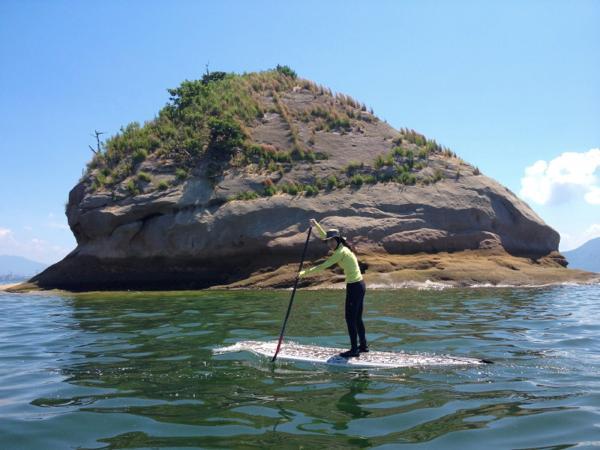【山口県・SUP】初心者でも楽しめる!話題のSUPで半日の海上散歩