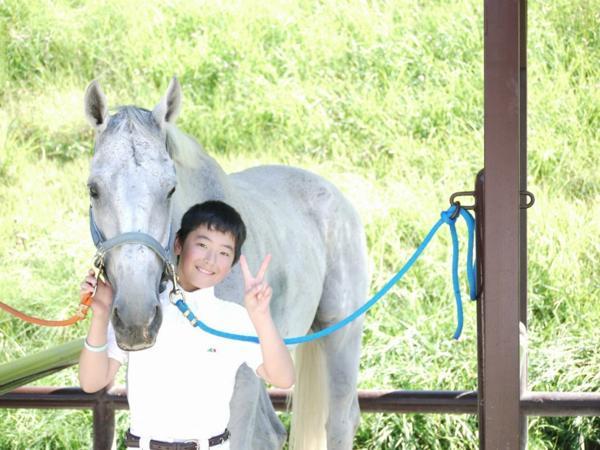 【馬場一周・引き馬体験】3歳からOK!インストラクターがご案内♪