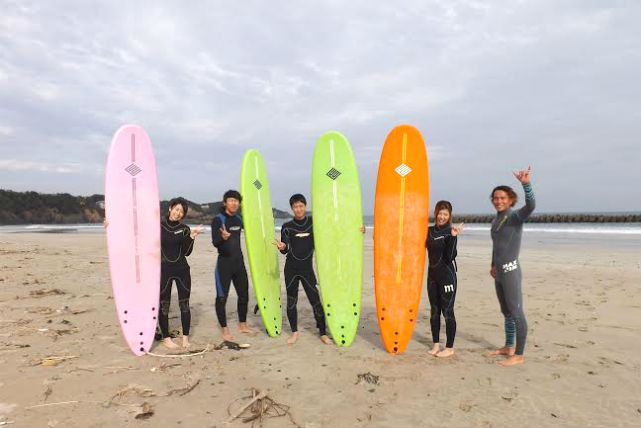 【三重・伊勢国府・サーフィン・半日】本格アドバイスでじっくり学べる!サーフィンスクール