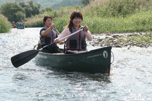 【半日】4年連続清流日本一の美しい川★尻別川でカヌーツーリング!