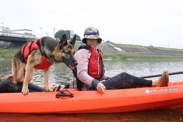 【徳島・吉野川・ペット同伴・カヌー】愛犬とかけがえのない1日を過ごそう。犬連れカヌーツーリング