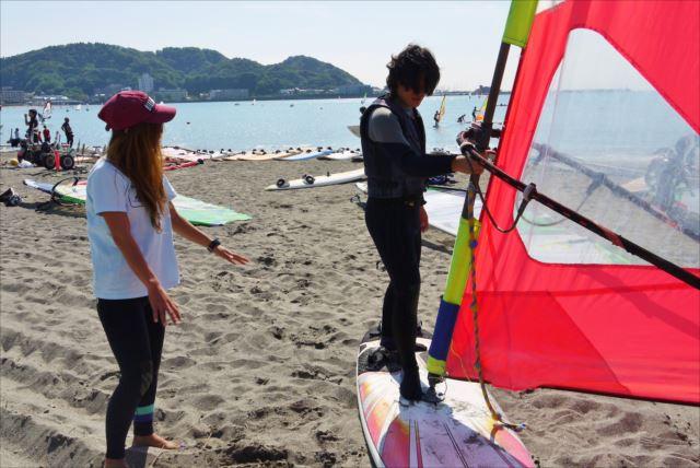 【神奈川・逗子・ウインドサーフィン】波が穏やかな逗子の海で、1日ウィンドサーフィン!