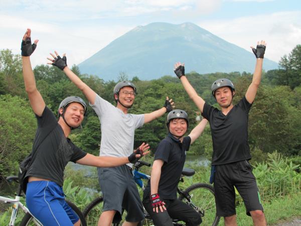【半日・午前or午後】ファミリー歓迎!のんびり走ろう☆ニセコさわやかサイクリング
