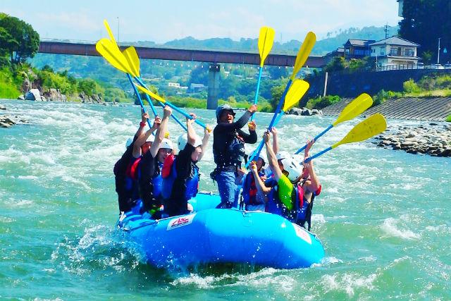 【半日・午前or午後】13kmのロングコース!!天竜川ラフティング
