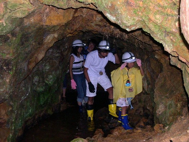 【体験・1時間】異世界への入口!暗闇を進むわくわく洞窟散歩!★ドリンクプレゼント