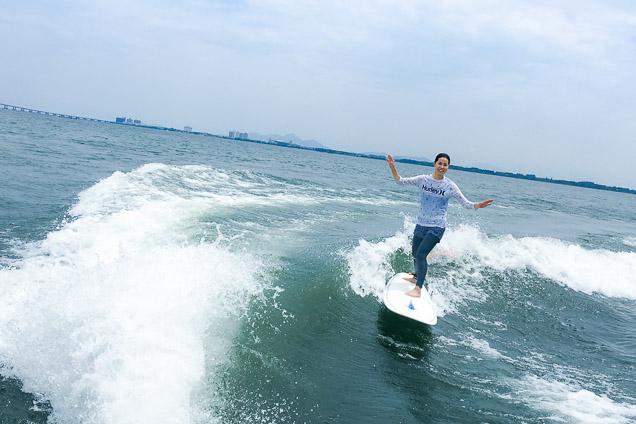 滋賀・琵琶湖・ウェイクサーフィン(90分)