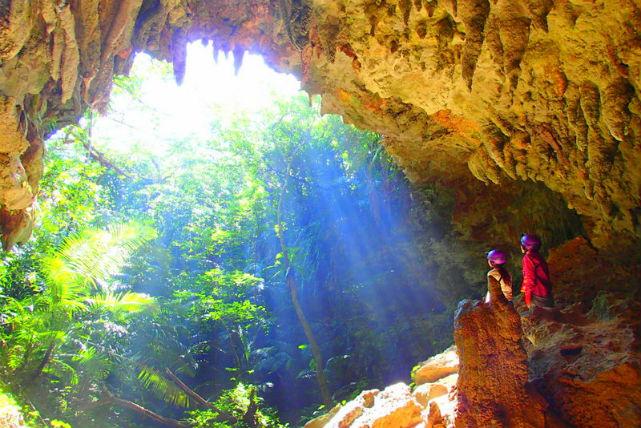 【沖縄県西表島・SUP&ケイビング】自然美に感動!マングローブ林と鍾乳洞へ行こう