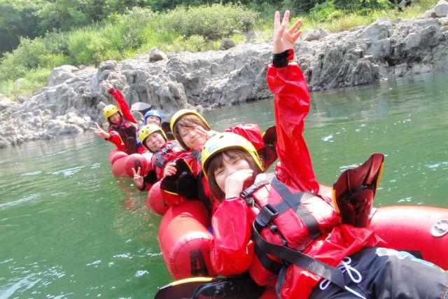 【滋賀・午前・リバーブギ】瀬田川の激流をこえて行こう!リバーブギで爽快スプラッシュ体験!