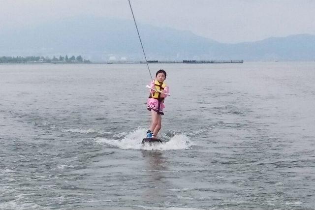 【15分×1セット】とりあえずやってみたい方向け!琵琶湖ウェイクボード★