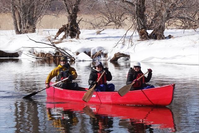 【北海道・釧路・冬季限定・カヌー】リバーウォッチング!冬の釧路湿原を堪能