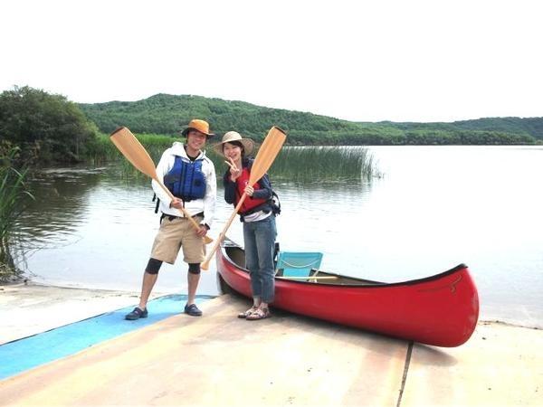 【北海道・釧路・カヌー】お手軽体験!アレキナイ川をカヌーで探検しよう!★写真プレゼント