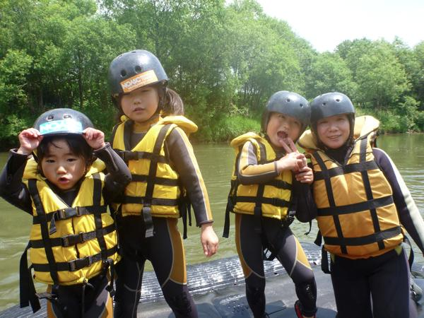 半日・尻別川ファミリーツアー(4歳から可)